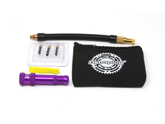 Dynaplug Air Repair/Inflation Kit for MTB Tubeless Tires purple